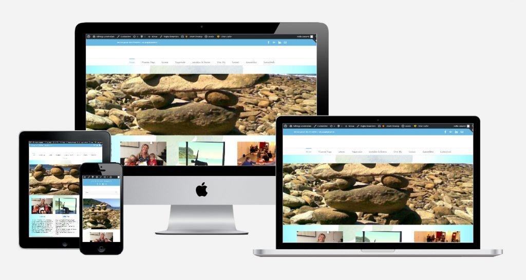 Content en website ontwikkeling 'Wil Yoga' 1