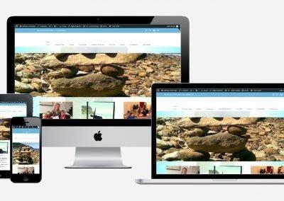 Content en website ontwikkeling 'Wil Yoga'